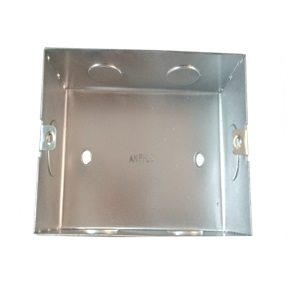 Square flush- mounting boxes 70x70
