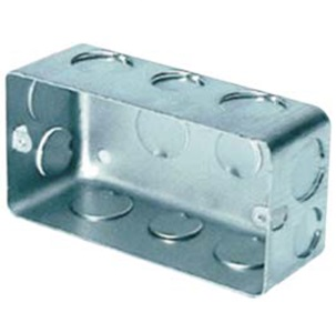Handy flush- mounting boxes 132x72