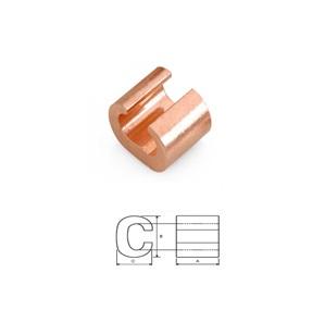 Copper C Type Connectors 6-6
