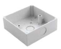 Square Box, Surface Mounting size  86x86x32mm