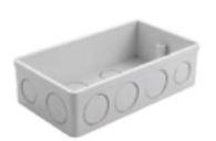 Twin Box, Flush Mounting size 135x78x38mm
