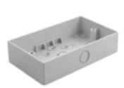 Twin Box, Surface Mounting size 146x86x32mm